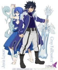 Anime Fairy Tail Juvia and Gray