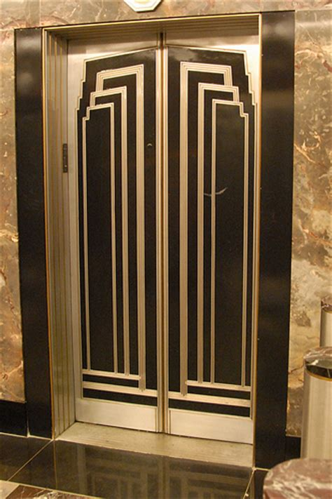 deco lift in empire state building flickr photo