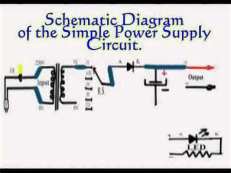 Simple Power Supply Circuit Mljr Schematic Diagram