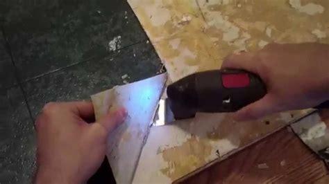 DIY ? Removing Vinyl or Flooring   See It Do It