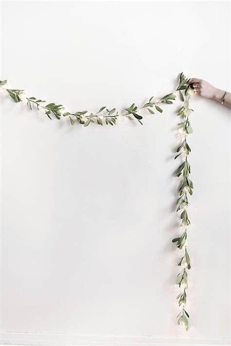diy string lights garland