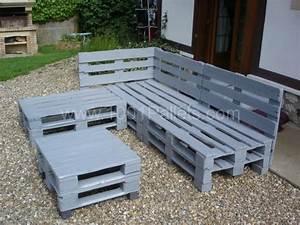 Construire Un Salon De Jardin Avec Des Palettes Les