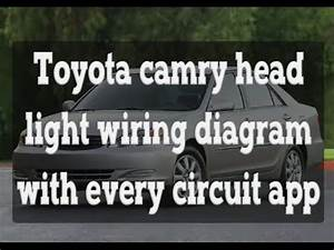 Toyota Camry Head Light Wiring Diagram With Every Circuit