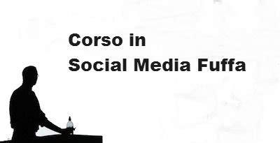corsi fuffa sui social media