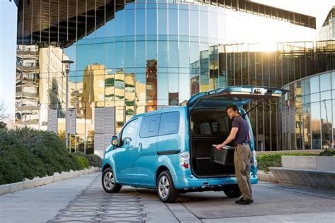 Best Electric Vans 2016 by Nissan E Nv200 Best Selling Electric In Europe In