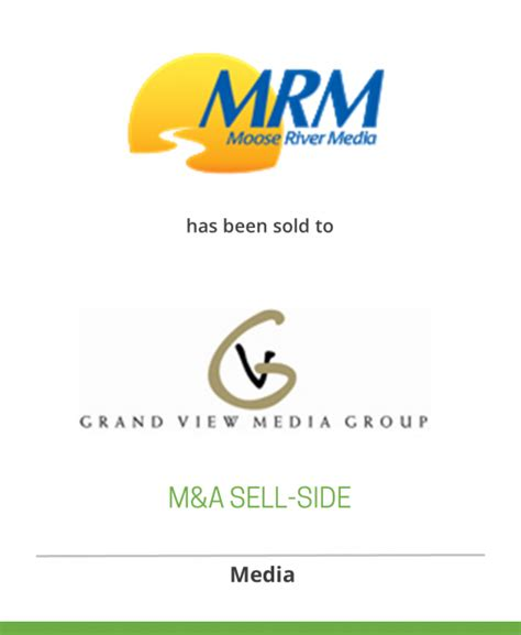 Moose River Media has been sold to Grand View Media ...