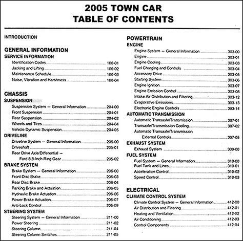 book repair manual 2006 lincoln town car security system 2006 lincoln town car repair shop manual original