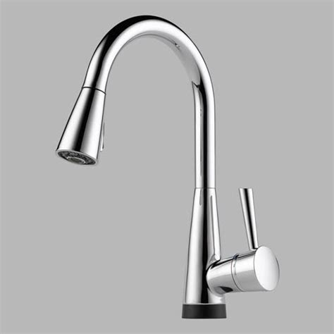 brizo kitchen faucet touch 64070 brizo venuto single handle pull kitchen faucet
