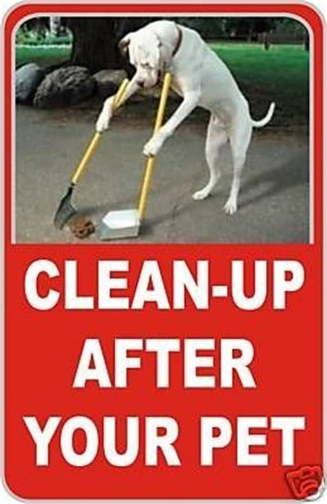 zanysigns   clean    dog sign dog pet