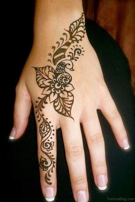 stylish heena tattoos  finger