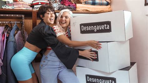 Duda Beat mostra sua coleção de casacos para Fernanda Paes ...