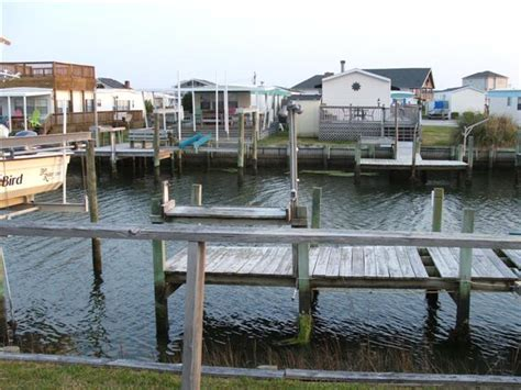 canal front mobile home  dock atlantic beach nc
