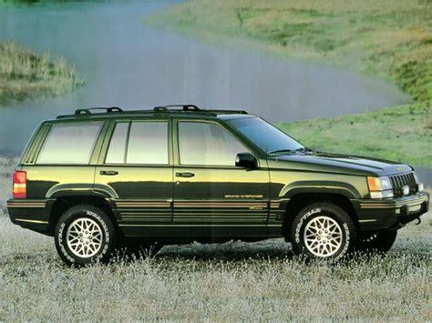 1995 jeep grand cherokee 1995 jeep grand cherokee overview cars com