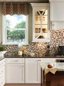 peel and stick backsplashes for kitchens 18 gleaming mosaic kitchen backsplash designs