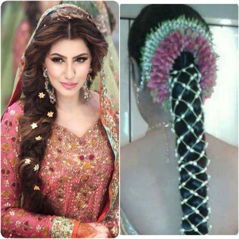 pakistani wedding hairstyles  long hair top pakistan