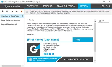 Office 365 Mail Footer by E Mail Signature Agc Yazılım