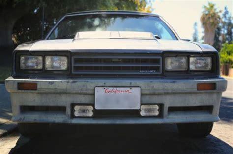 car repair manuals download 1985 mercury capri parking system sell used 1985 mercury capri rs mustang gt 5 0 t top smogged no reserve in santa clara