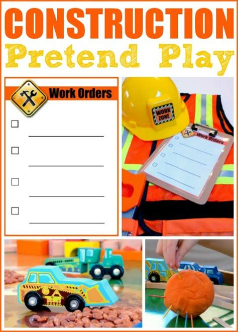 childhood beckons construction pretend play prompt