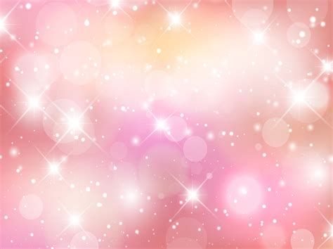 Sparkle Background Beautiful Pink Sparkles Background Vector Graphics