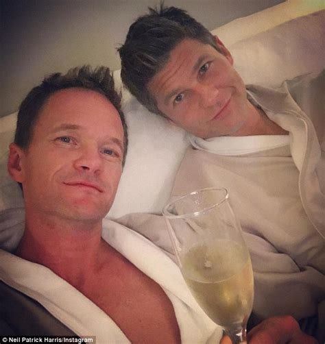 Neil Patrick Harris And Husband David Burtka Share Kiss At