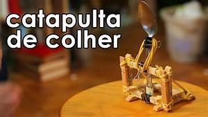 Catapulta De Colher  Brinquedo