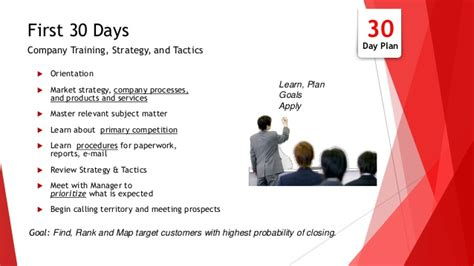 30 60 90 business plan for interview
