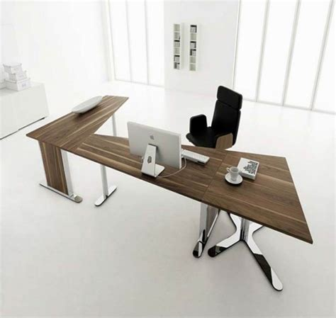 Unique Home Office Desks by Unique Brown Wood Functional Desk Design Collections For