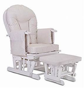 Fauteuil Bascule Bois Rocking Chair Beige Allaitement Bb