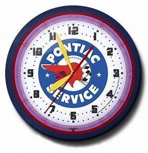Parts and Services Theme Neon Clocks High Quality