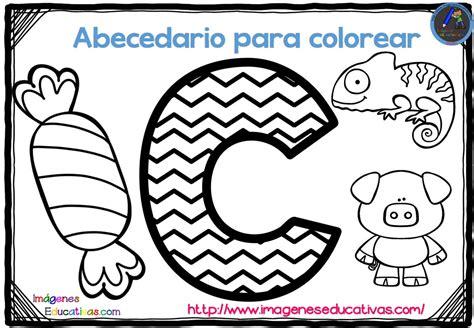 abecedario para colorear listo para descargar e imprimir zig zag 3 imagenes educativas