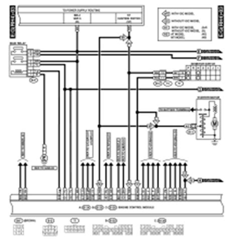 1995 Subaru Legacy Wiring Harnes Diagram by 2001 Subaru Legacy Wiring Diagram And Engine Electrical System
