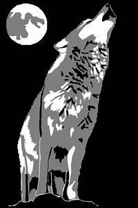 Wolf, Pumpkin, Carving, Stencil, By, Lurking