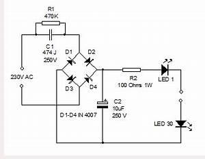 extra bright led lamp electronics hobby With led hobby circuit