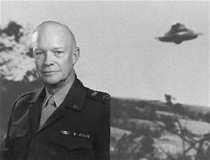 President Eisenhower had three secret meetings with aliens?