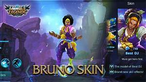 Mobile Legends New Bruno Best DJ Skin YouTube