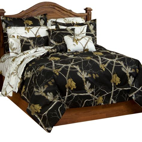 Realtree Bed by Camo Bedding Realtree Ap Black And Snow Bedding