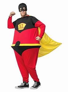 Kostüm Superhelden Damen : dicker superheld kost m fatsuit online kaufen ~ Frokenaadalensverden.com Haus und Dekorationen