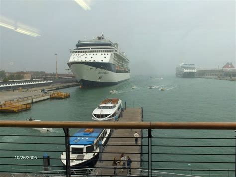 Panoramio - Photo Of Venice Cruise Ship Dock And Water Taxis