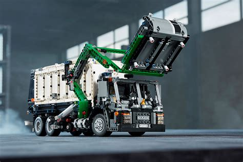mack trucks  anthem debuts  huge lego set truckscom