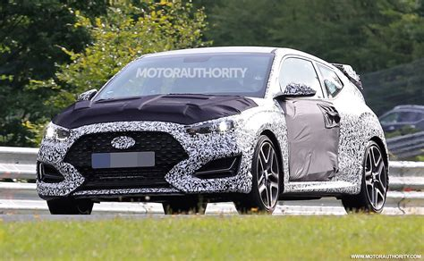 2019 Hyundai Veloster N Spy Shots And Video
