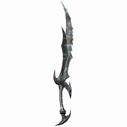 Skyrim Sword Daedric Winter Gamepedia