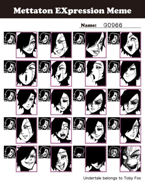 Meme Expression Faces - undertale expressions meme tumblr