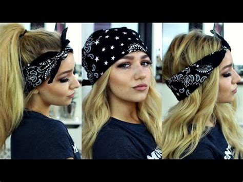 how to style hair with a bandana pia jenner inspired bandana hairstyles hair 7071
