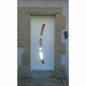 porte d39entree pvc With porte d entrée pvc en utilisant porte pvc couleur bois