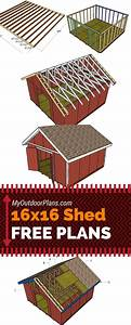 Free Plans For You To Learn How To Build A 16x16 Shed With
