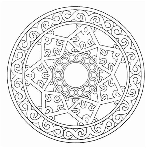 free mandala coloring pages for adults mandala coloring pages printable coloring home