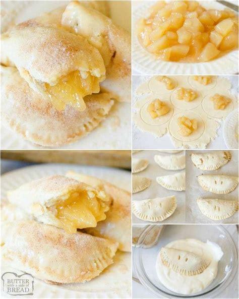 apple hand pies butter   side  bread