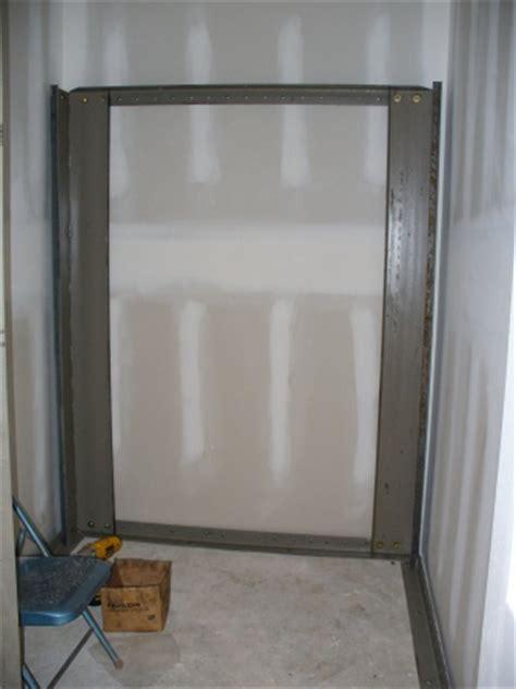 vault in a closet