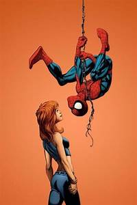Spider-Man and Mary Jane by Mark Bagley * | Comic Book Art ...