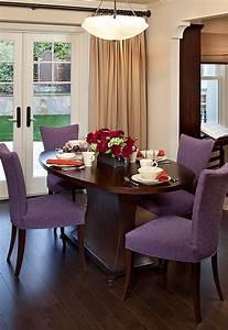 Chaises De Couleur Pour Salle A Manger : idee decoration salle manger avec chaises couleurs ~ Teatrodelosmanantiales.com Idées de Décoration